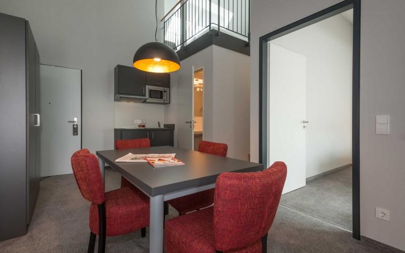 Loft Suite - Wohnraum